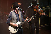 """Photos of Ryan Bingham performing live on the """"Fear and Saturday Night"""" Tour 2016 at Irving Plaza, NYC on February 5, 2016. © Matthew Eisman/ Getty Images. All Rights Reserved"""