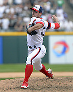 CHICAGO - APRIL 24:  David Robertson #30 of the Chicago White Sox pitches against the Texas Rangers on April 24, 2016 at U.S. Cellular Field in Chicago, Illinois.  The White Sox defeated the Rangers 4-1.  (Photo by Ron Vesely)   Subject: David Robertson