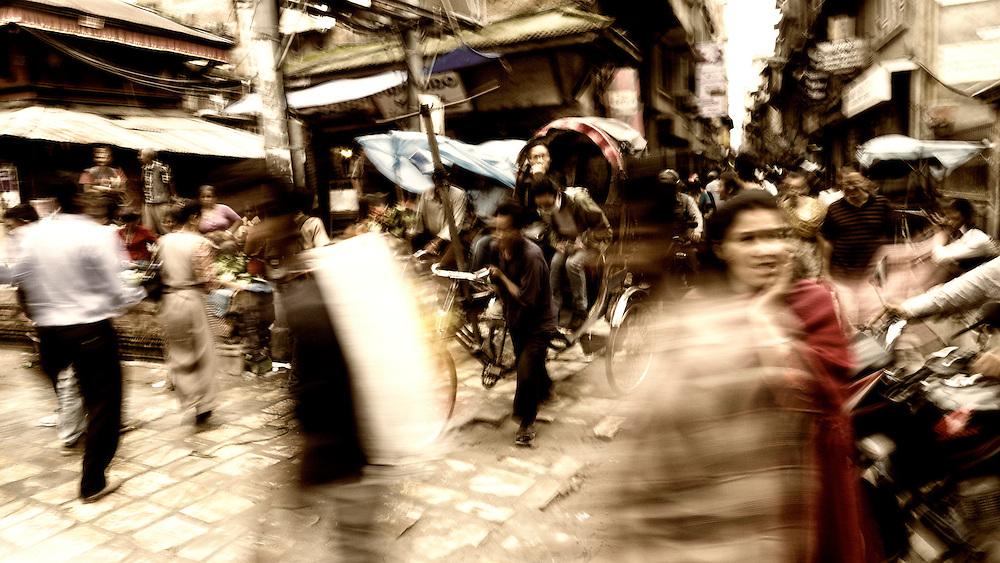 Kathmandu in motion