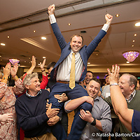 Cathal Crowe is elected