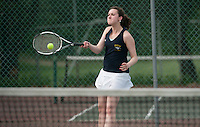 Bow Tennis Finals at Plymouth State University May 27, 2011.  Karen Bobotas/for the Concord Monitor