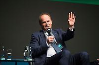 DEU, Deutschland, Germany, Berlin, 05.10.2020: Tag der Industrie (TDI) des Bundesverbands der Deutschen Industrie (BDI) in der Verti Music Hall. Dr. Martin Brudermüller (CEO BASF), CEO-Panel: Industriestrategien für die Zukunft – Wie geht es weiter?