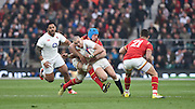 Twickenham. Great Britain.<br /> Mike BROWN, during the<br /> RBS Six Nations Rugby, England vs Wales at the RFU Twickenham Stadium. England.<br /> <br /> Saturday  12/03/2016 <br /> <br /> [Mandatory Credit; Peter Spurrier/Intersport-images]