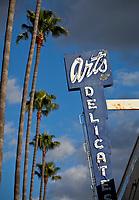 Art's Delicatessen has been in business in Studio City on  Ventura Blvd in Studio City , Ca. since 1957.  shot December 27, 2012. Photo by David Sprague Copyright 2012