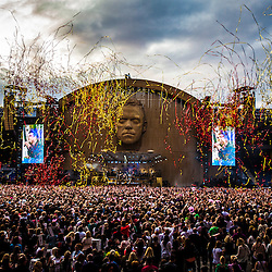 Robbie Williams at Hampden 2013