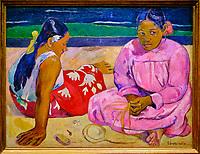France, Paris (75), zone classée Patrimoine Mondial de l'UNESCO, Musée d'Orsay, Paul Gauguin, Femmes de Tahiti // France, Paris, Orsay museum, Paul Gauguin, Femmes de Tahiti