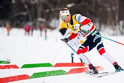 January 6, 2018 - Val Di Fiemme, ITALY - 180106 Sjur RÂ¿the of Norway competes in men's 15km mass start classic technique during Tour de Ski on January 6, 2018 in Val di Fiemme..Photo: Jon Olav Nesvold / BILDBYRN / kod JE / 160123 (Credit Image: © Jon Olav Nesvold/Bildbyran via ZUMA Wire)