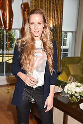 Hum Fleming  at the Rosie Fortescue Jewellery Launch, Brown's Hotel London England. 10 May 2017.<br /> Photo by Dominic O'Neill/SilverHub 0203 174 1069 sales@silverhubmedia.com