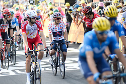 Richard CARAPAZ (ECU) pictured at the end of stage 19 of Tour de France cycling race, over 166,5 kilometers (103.4 miles) with start in Bourg-en-Bresse and finish in Champagnole, France,Friday, September 18, 2020.//JEEPVIDON_1615005/2009191625/Credit:jeep.vidon/SIPA/2009191625 / Sportida