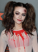 Emily Middlemas, Kiss FM Haunted House Party 2016 - VIP Arrivals, The SSE Arena Wembley, London UK, 27 October 2016, Photo by Brett Cove