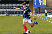 Scotland's Finn Ecrepont (Ayr United) during the U17 European Championships match between Scotland and Russia at Simple Digital Arena, Paisley, Scotland on 23 March 2019.