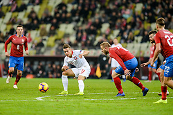 November 15, 2018 - Gdansk, Poland, DAMIAN KADZIOR from Poland during football friendly match between Poland - Czech Republic at the Stadion Energa in Gdansk, Poland