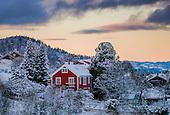 Trondheim in Snow