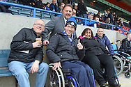 Russ Green Rochdale Chief-Executive meets some disabled fans and their carers pre-match during the EFL Sky Bet League 1 match between Rochdale and Gillingham at Spotland, Rochdale, England on 23 September 2017. Photo by Daniel Youngs.