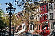 Harlem Brownstones, Manhattan, New York