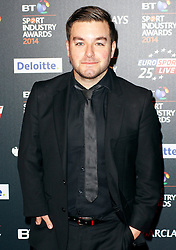 © Licensed to London News Pictures. 08/05/2014, UK. Alex Brooker, BT Sport Industry Awards 2014, Battersea Evolution, London UK, 08 May 2014. Photo credit : Brett D. Cove/Piqtured/LNP