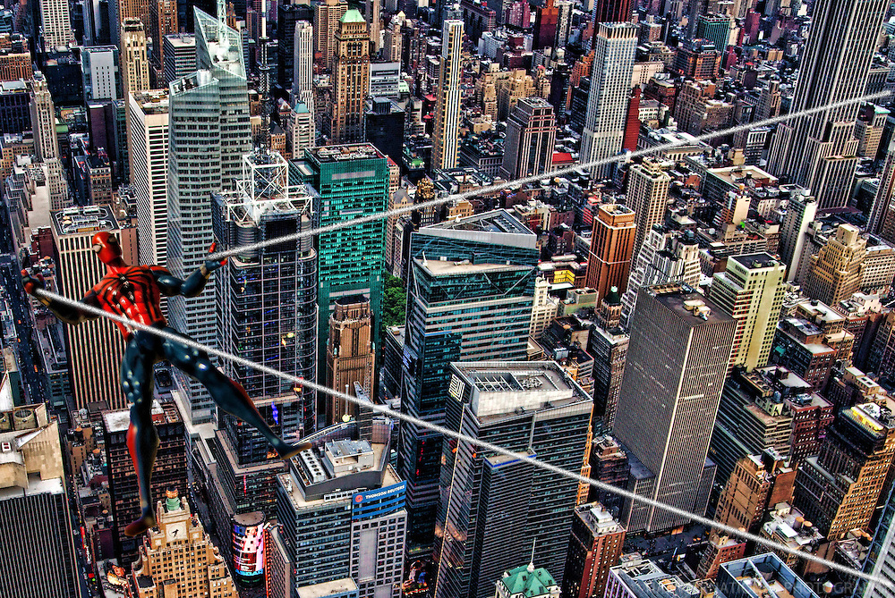SEPT 2nd:  Commute of Your Neighborhood Spiderman