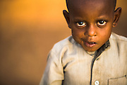 Young refugee boy from Central African Republic in the village of Boulembe, near Bertoua, Cameroon, on Tuesday September 15, 2009..