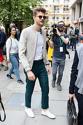 © Licensed to London News Pictures. 10/06/2016. London, UK. Jim Chapman arrives at the opening for London Collections Men at 180 The Strand. Photo credit : Tom Nicholson/LNP