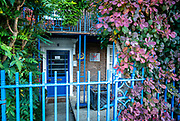 Hammersmith, Greater London, UK., 18th October 2020, British Rowing, ARA Headquarters, front entrance, COVID-19,  Hammersmith Bridge, [Mandatory Credit: Pete Spurrier/Intersport Images],