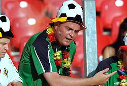 25-06-2006 VOETBAL: FIFA WORLD CUP: NEDERLAND - PORTUGAL: NURNBERG<br /> Oranje verliest in een beladen duel met 1-0 van Portugal en is uitgeschakeld / Toeschouwers, publiek, support<br /> ©2006-WWW.FOTOHOOGENDOORN.NL