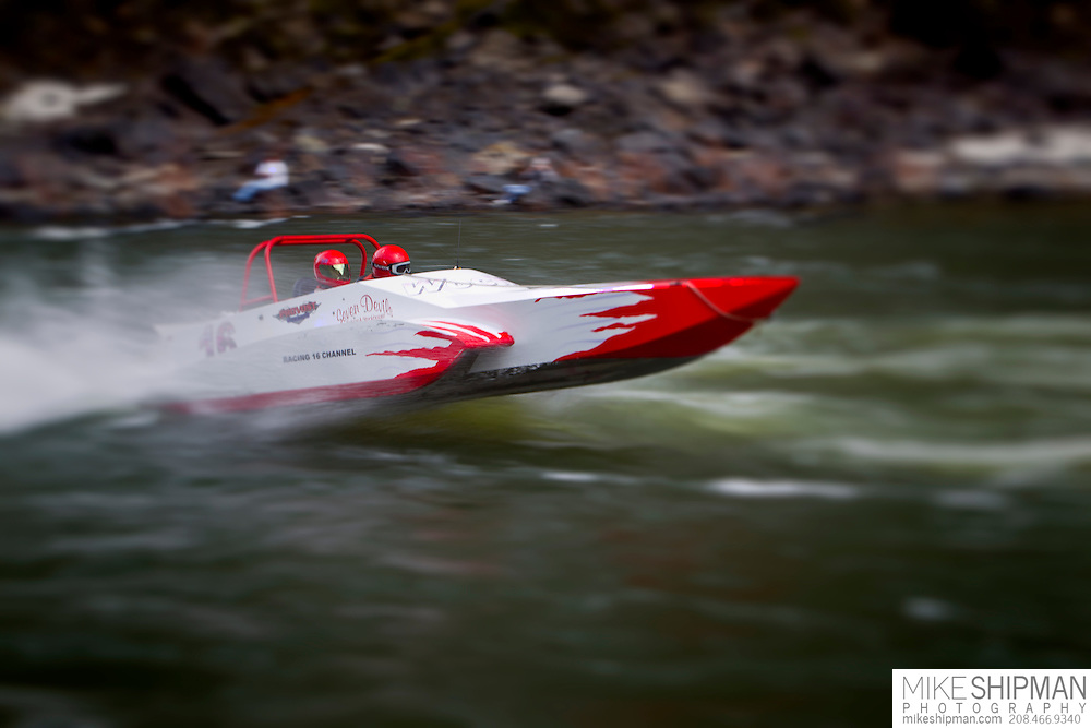 Salmon River Jet Boat Race, Riggins, Idaho, Jesse LaForest, #16