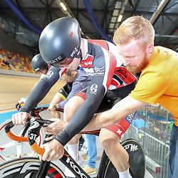16-12-2016: Wielrennen: NK baanwielrennen: Apeldoorn  <br />Niels van 't Hoenderdaal
