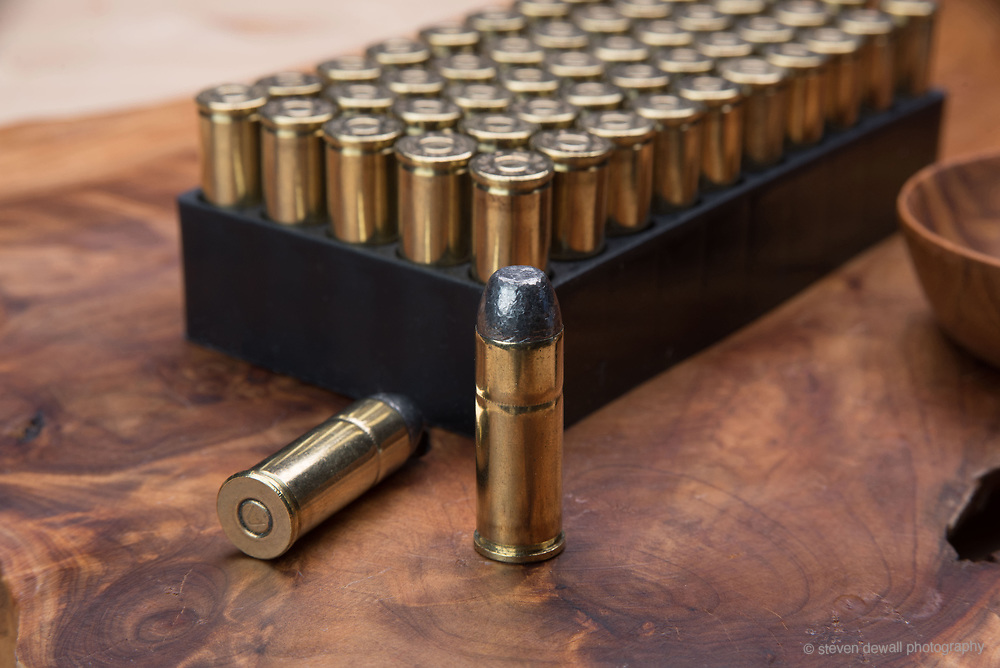 Bullets and case