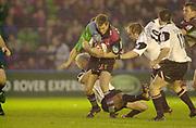 Twickenham, Surrey, 11th November 2002, Zurich Premiership Rugby, Stoop Memorial Ground, England,<br /> [Mandatory Credit: Peter Spurrier/Intersport Images],Zurich Premiership Rugby Harlequins v Saracens<br /> Will Greenwood