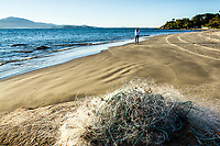 Praia do Forte no inverno. Florianópolis, Santa Catarina, Brasil. / <br /> Fortress Beach at winter. Florianopolis, Santa Catarina, Brazil.