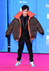 Alex Domenech attending the MTV Europe Music Awards 2018 held at the Bilbao Exhibition Centre, Spain