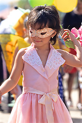 Young Child In Local Festival