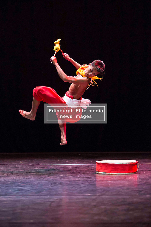 Pictured:  Mela on Your Doorstep event. A snapshot of the annual Glasgow Mela, which takes place next weekend, including music and dance. Tramway Manipur Dance by Tapsaya<br /> Karen Gordon  (c) Edinburgh Elite media 10 July 2016