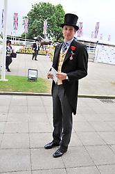 JAKE WARREN at the 2012 Investec sponsored Derby at Epsom Racecourse, Epsom, Surrey on 2nd June 2012.