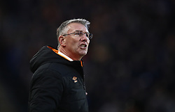 Hull City's manager Nigel Adkins