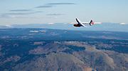 Preparing the Bowlus Baby Albatross test flight.
