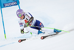 12.01.2020, Keelberloch Rennstrecke, Altenmark, AUT, FIS Weltcup Ski Alpin, Alpine Kombination, Super G, Damen, im Bild Ilka Stuhec (SLO) // Ilka Stuhec of Slovenia during the women's Alpine combined SuperG competition for the FIS ski alpine world cup at the Keelberloch Rennstrecke in Altenmark, Austria on 2020/01/12. EXPA Pictures © 2020, PhotoCredit: EXPA/ Johann Groder