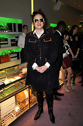 SELINA BLOW at a party hosted by Prada to celebrate launch of a book documenting the company's diverse projects in fashion, architecture, film and art held at their store 16/18 Old Bond Street, London on 19th November 2009.