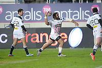 Joie - Zurabi Zhvania - 28.12.2014 - Stade Francais / Racing Club Toulon - 14eme journee de Top 14<br />Photo : Aurelien Meunier / Icon Sport