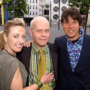 Friends Event, Isabelle Brinkman, James Michael Tyler en Erik van 't Hoff