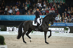 Schneider Dorothee, (GER), Ullrich Equine's St Emilion<br /> Grand Prix Kür<br /> Reem Acra FEI World Cup Dressage<br /> Stuttgart - German Masters 2015<br /> © Hippo Foto - Stefan Lafrentz