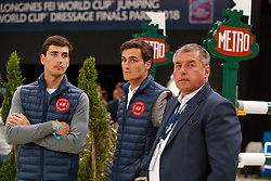 Philippaerts Ludo, Nicola, Olivier, BEL<br /> LONGINES FEI World Cup™ Finals Paris 2018<br /> © Hippo Foto - Stefan Lafrentz<br /> 15/04/2018