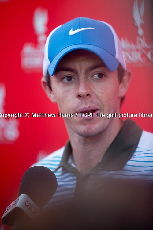 Rory MCILROY (NIR) during second round HSBC Abu Dhabi Championship 2014,Abu Dhabi Golf Club,Abu Dhabi,UAE.