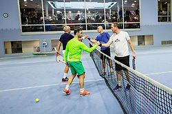 BTC – Medot rekreativni teniški turnir dvojic, on January 13, 2018 in BTC Millenium centre, Ljubljana, Slovenia. Photo by Vid Ponikvar / Sportida
