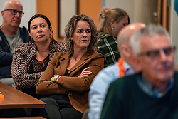 08–01-2020 NED: Olympic qualification tournament women, Apeldoorn<br /> Bulgaria - Netherlands 0-3 / VIP Meeting before the start of the match.
