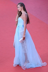 Lara Lieto arriving at Les Fantomes d'Ismael screening and opening ceremony held at the Palais Des Festivals in Cannes, France on May 17, 2017, as part of the 70th Cannes Film Festival. Photo by Aurore Marechal/ABACAPRESS.COM