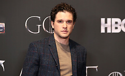 Kit Harington attending the Game of Thrones Premiere, held at Waterfront Hall, Belfast.
