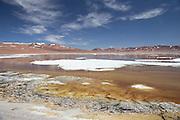 Pujsa Salt Lake, Atacama Desert. Chile, South America