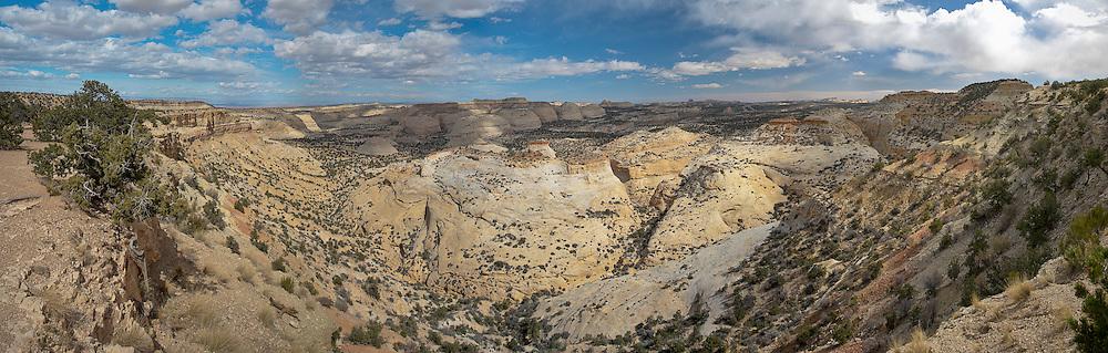 Eagle Canyon San Rafael Swell, Utah panorama