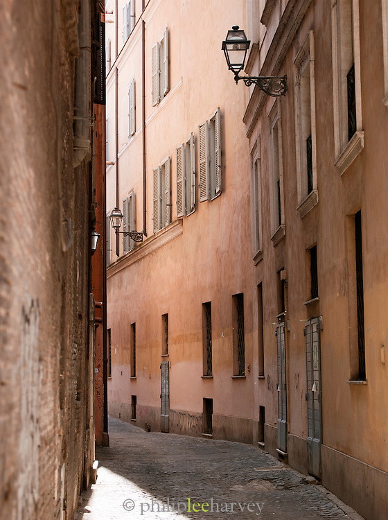 Small street scene, Rome, Italy